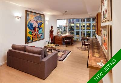 Coal Harbour Condo for sale: 1 bedroom 699 sq.ft.