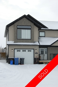Fort St. John - City NW Duplex for sale:  3 bedroom 1,834 sq.ft. (Listed 2017-03-09)